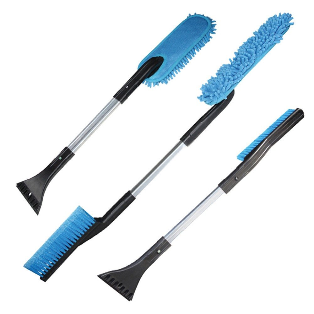 3 in 1 Detachable Multifunction Snow Brush with Ice Scraper Garden Car Snows Removing Shovel Tool