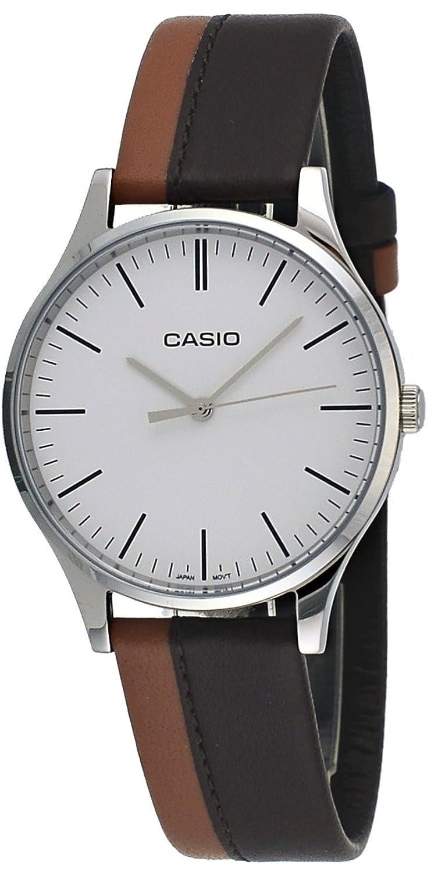 Casio Mtp E133l 5e Mens Standard Minimalist Leather Ltp 1378l 2e Women Quartz Watch Blue Band White Dial Watches