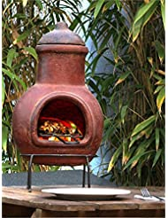 Clay Barbecue And Fireplace On Table 12 6x22 44inc Red Ground BBQ Outdoor Safety Cooking Natural Decorative Portable Pottery Barbecue Gift