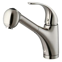 VIGO Alexander Single Handle Pull-Out Spray Kitchen Faucet