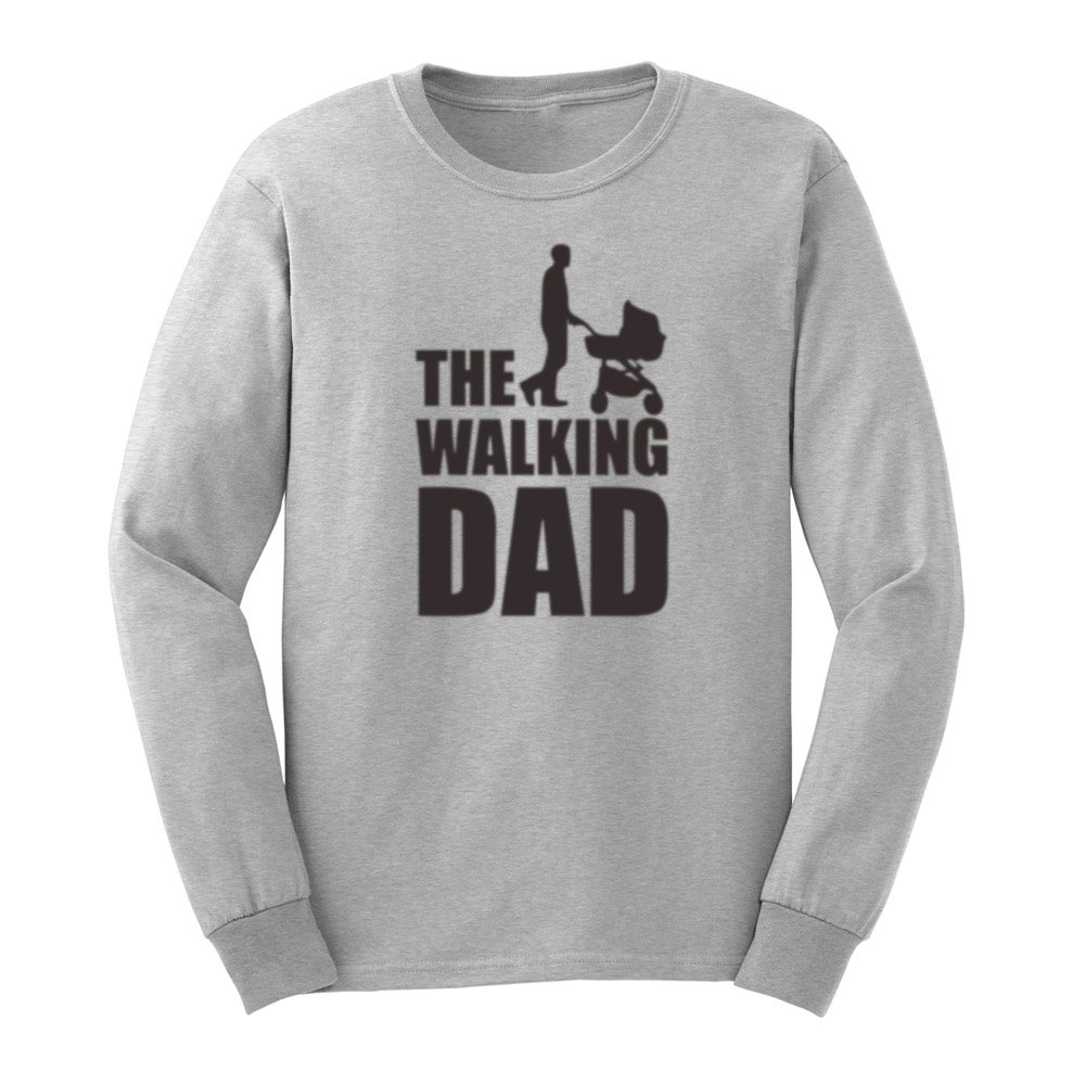 S The Walking Dad Funny T Shirts Casual Tee