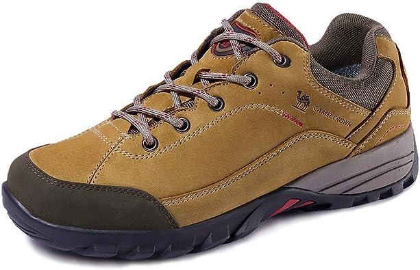 Camel Crown Zapatos de Senderismo para Mujer Zapatillas de Escalada Zapatos Seguros para Alpinismo Montaña Excursionismo Trekking Deportes al Aire ...