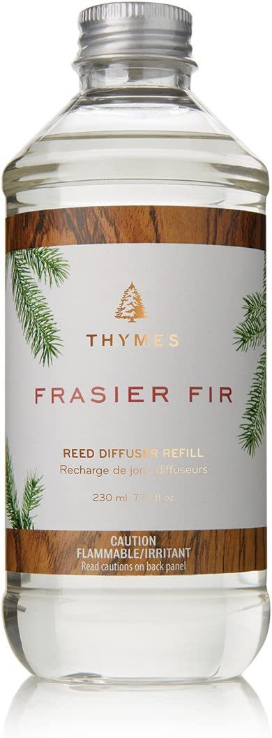 Thymes - Frasier Fir Reed Diffuser Oil Refill - 7.75 Ounces