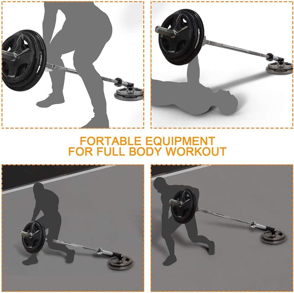 360/° Swivel Power Rack Attachment for 2-inch Olympic Bars Easy to Install Weight Plate Holders for Back Exercises LMIM Barbell T-Bar Row Platform Post Insert Landmine