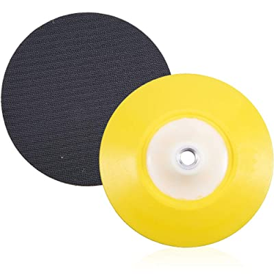 "JSCARLIFE 6"" DA Polisher & Sander Pad - Hook & Loop Face - Random Orbital Backing Plate: Automotive"