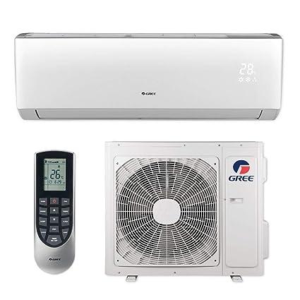 Gree LIVS24HP230V1B - 24,000 BTU 16 SEER LIVO  Wall Mount Ductless Mini  Split Air Conditioner Heat Pump 208-230V