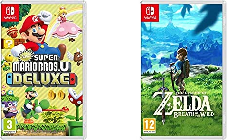 New Super Mario Bros. U Deluxe + The Legend Of Zelda: Breath Of ...