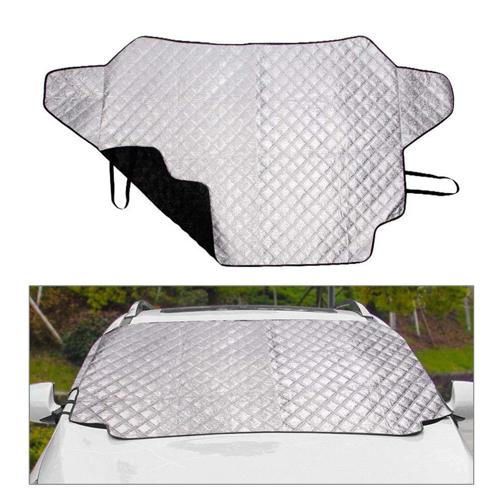 FOONEE Cubierta de la Nieve del Parabrisas, Protector de la Visera del Limpiaparabrisas de Ice Ice Frost para El Automóvil, Cubiertas de Parabrisas ...