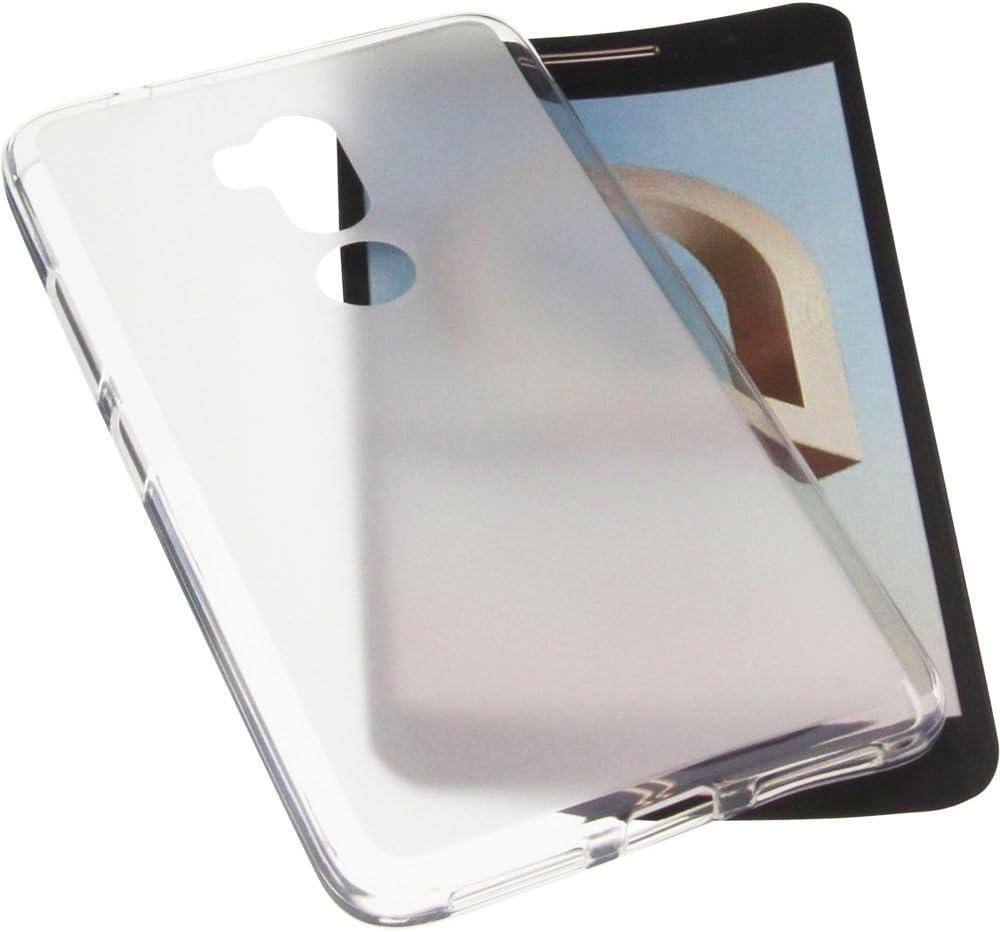 foto-kontor Funda para Alcatel A7 XL Protectora de Goma TPU para móvil Transparente Blanca: Amazon.es: Electrónica