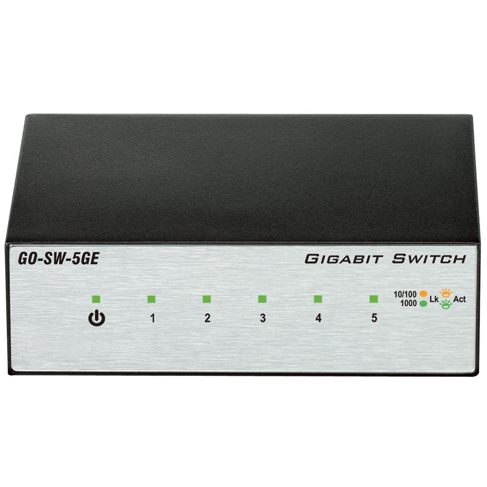D-Link 5-Port Unmanaged Gigabit Metal Desktop Switch (GO-SW-5GE)