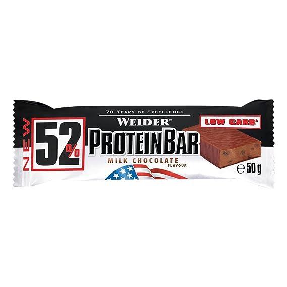 Weider 52% Protein Bar 1 barrita x 50 gr