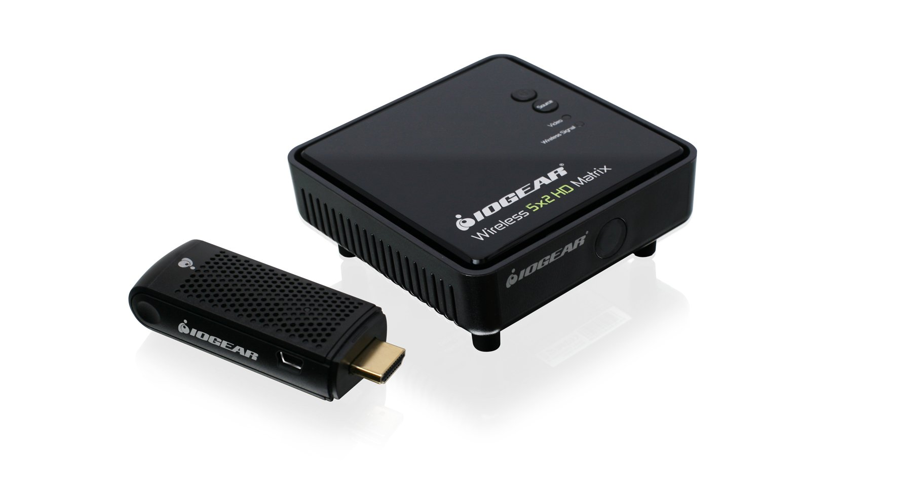 IOGEAR Wireless HDMI Transmitter and Receiver Kit, GWHD11 by IOGEAR