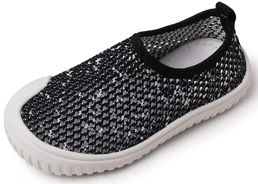 InStar Kids Breathable Hollow Slip On Antiskid Sneakers Loafers Shoes