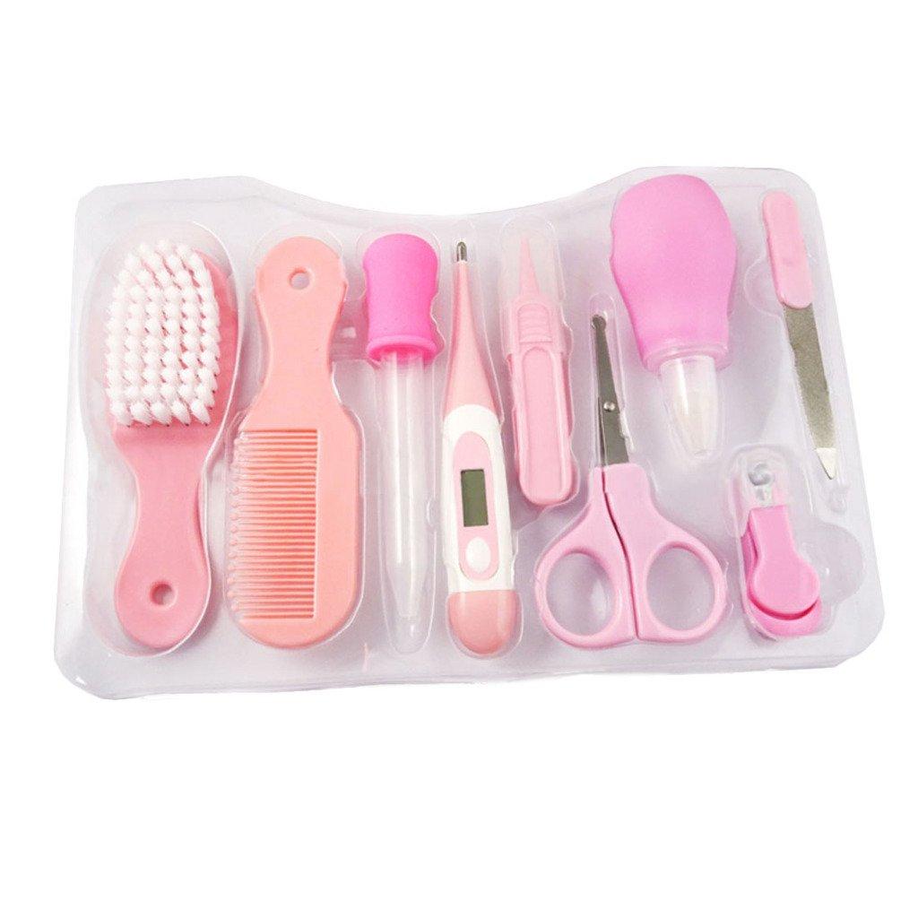 Fygood - Kit de cuidado y salud para bebé Blue+The plastic box Talla:9pcs Set FYN-023-H-L