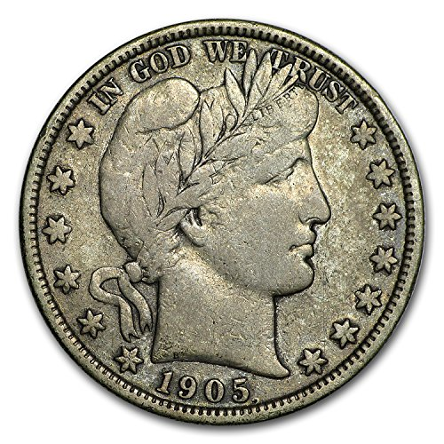 1905 S Barber Half Dollar Fine Half Dollar Fine