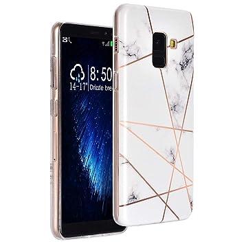 Amazon.com: Carcasa para Samsung Galaxy A8 2018, diseño de ...