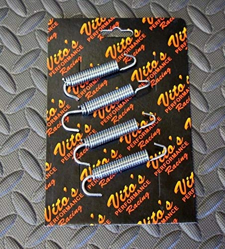 4 X Vito's Pipe Springs - Yamaha Banshee 1987-2006 Stainless Steel New