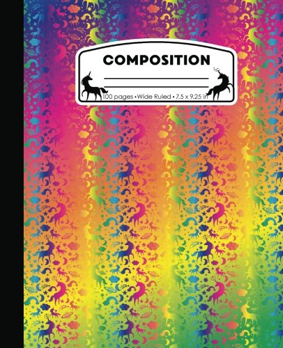 100 Page Composition Book - 9