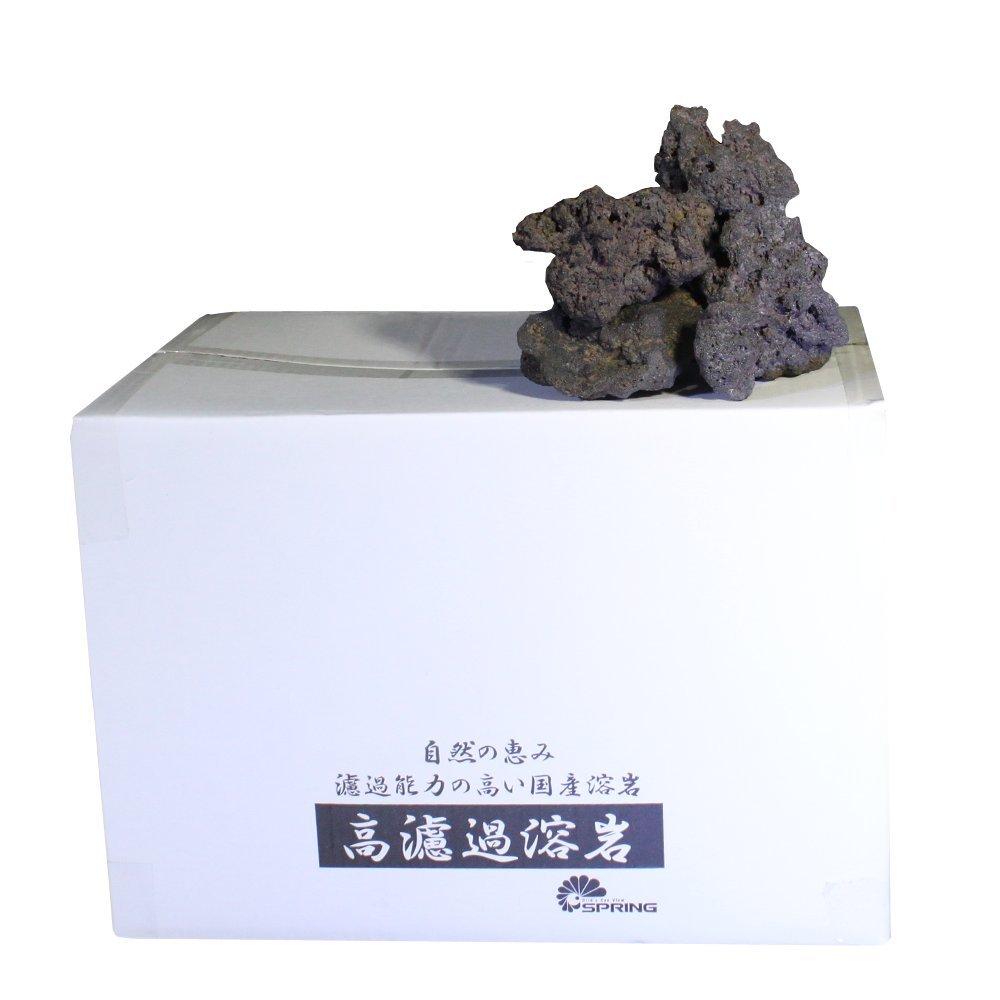 高濾過溶岩 Kouroka Lava 8~20cm 8kg 黒系 Black Series KRK-LVA-M-BR B077LQ2TQ5 黒系