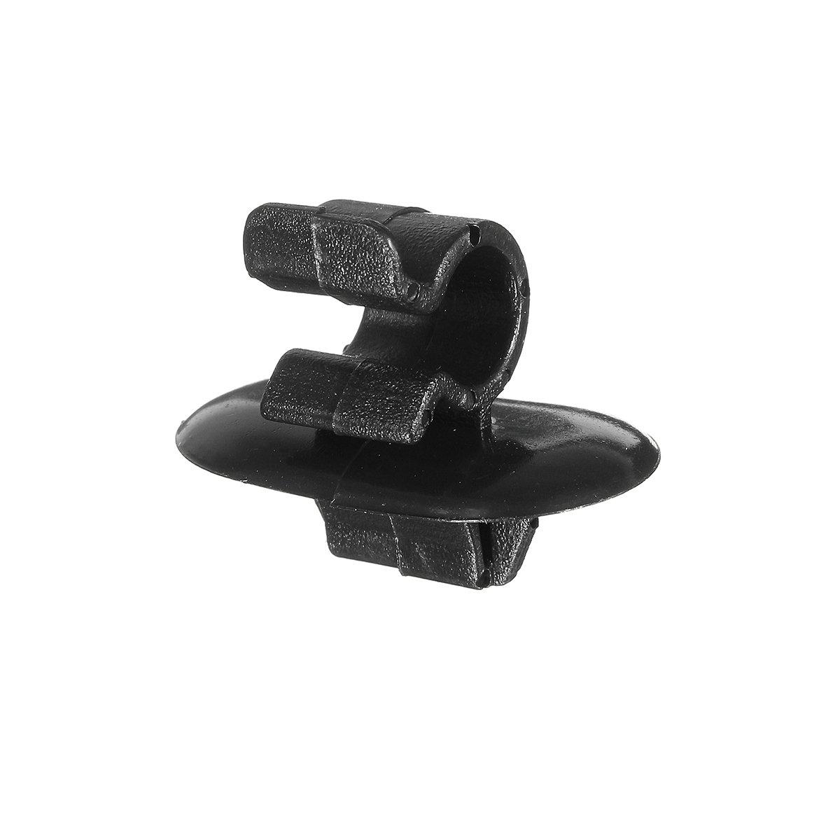FeLiCia 2 X Bonnet Stay Clips Plastic Fastener Holder for Citroen for Peugeot Vauxhall Vivaro