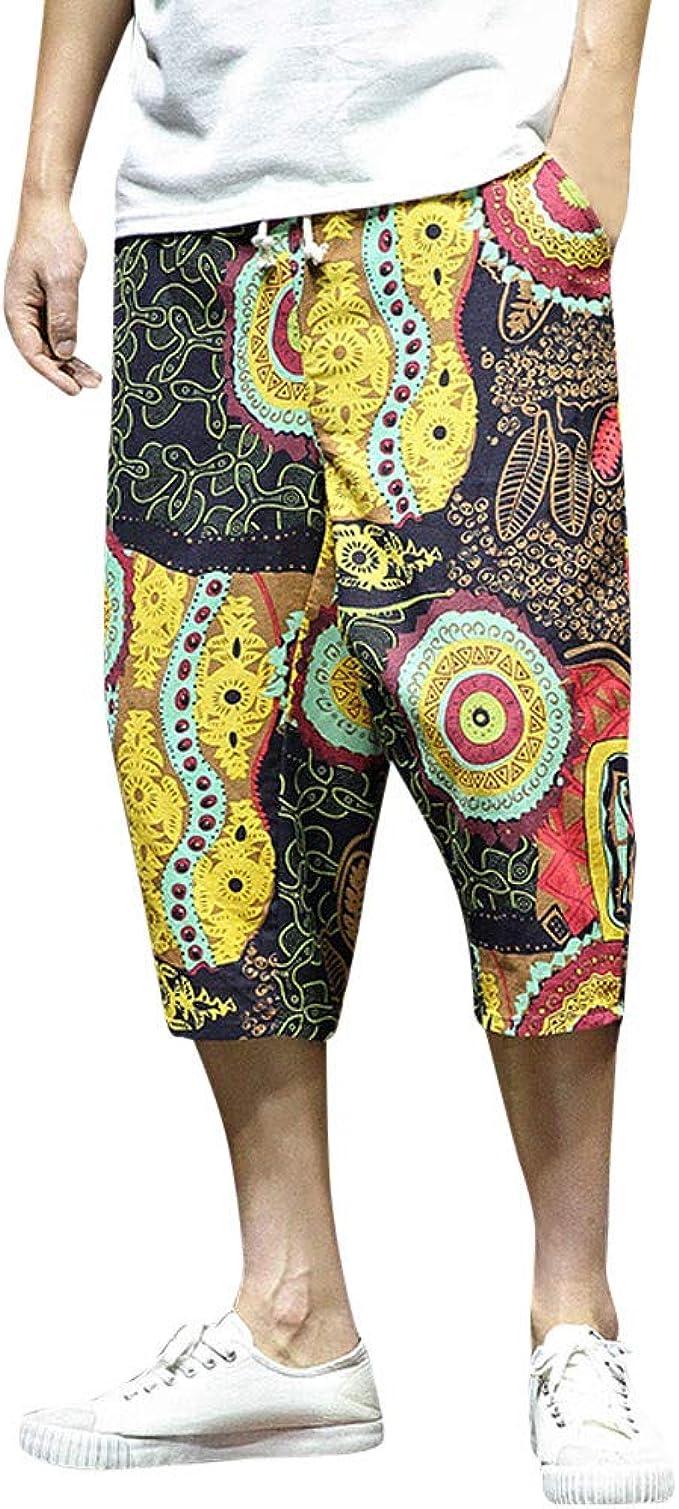 Pantalones Bombachos Hombre con Tobillo Pantalon ...