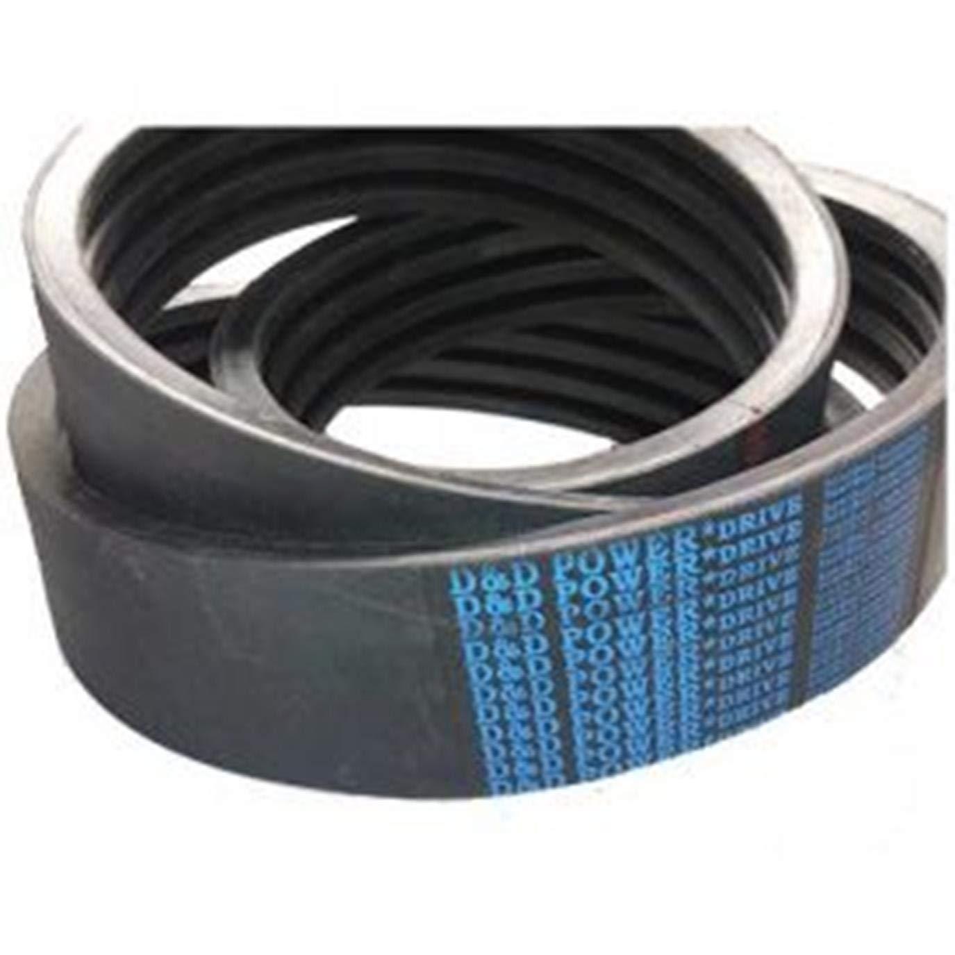 D/&D PowerDrive ORB-19-16733B173//07 Banded V Belt 0.62 Width 176 Length