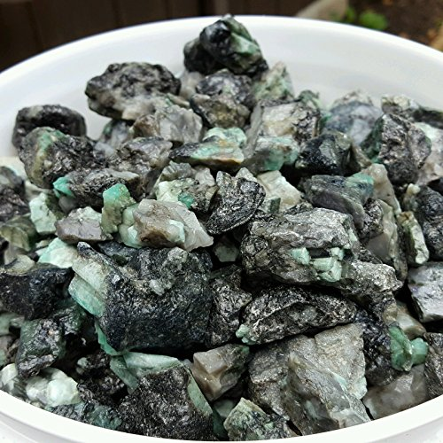 1/4 lb 500 CTS ROUGH EMERALD GEMS NATURAL UNSEARCHED MINERAL, Lapidary cab:NJTRADERSWAREHOUSE
