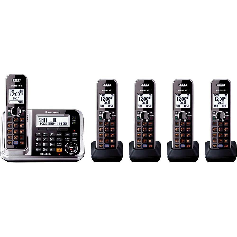 Amazon.com: Panasonic kx-tg7875s link2cell teléfono ...