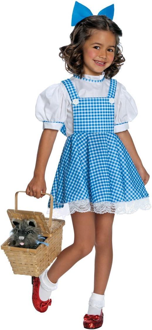 Rubies - Disfraz de Dorothy para niña (5 años) (talla M): Amazon ...