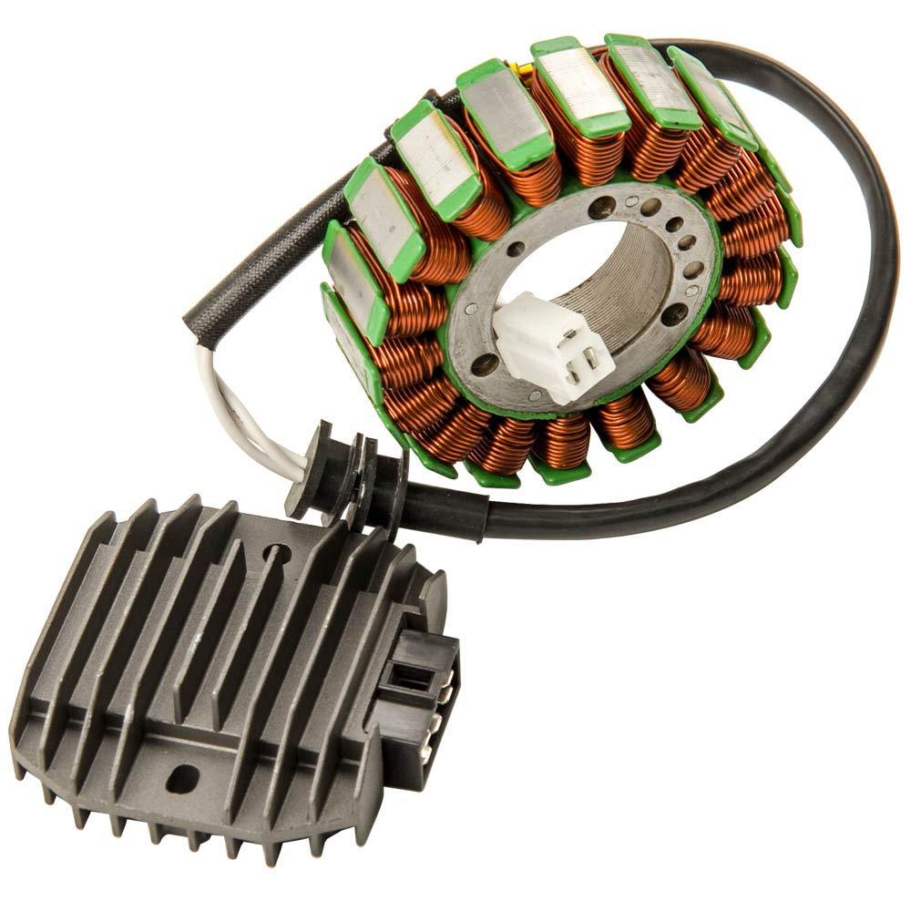 maXpeedingrods Stator & Regulator Rectifier 5EB-81410-00-00 for Yamaha R6 YZFR6 YZF-R6 1999 2000 2001 2002