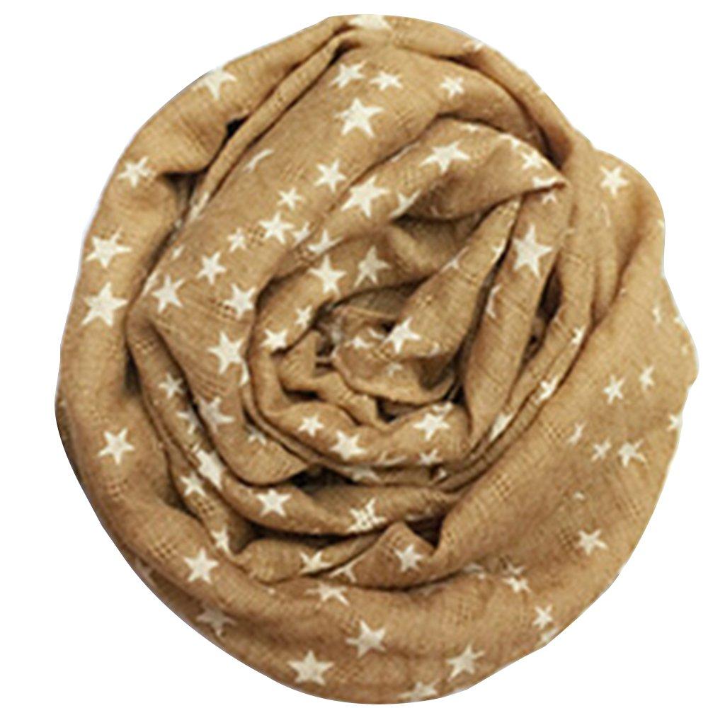Boys Girls Stars stampa colletto Baby cotone sciarpe Wraps Bodhi2000