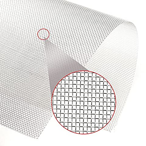 30x30cm Woven Wire 304 Stainless Steel Filtration Grill Sheet Filter 20 Mesh ZevenMart