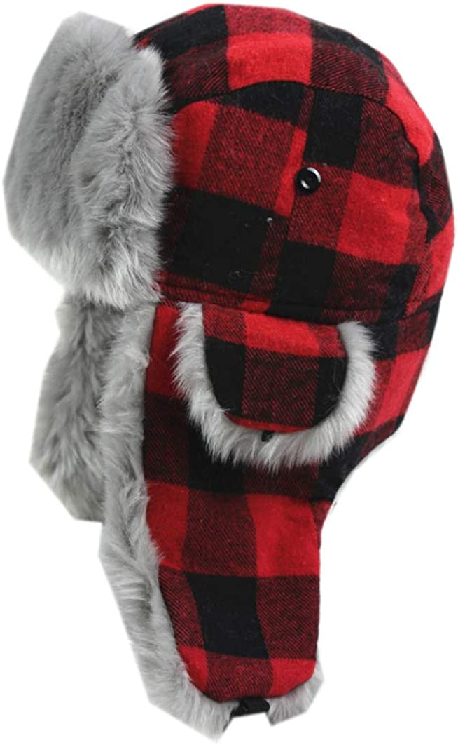 Red Plaid Winter Hats...