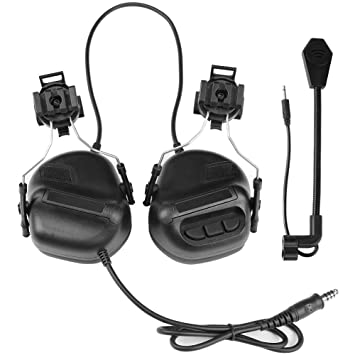 Tactical Headset Hunting Airsoft Helmet Headphone Military Shooting