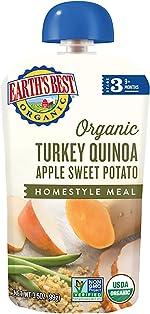 Earth's Best Organic Stage 3 Baby Food, Turkey Quinoa Apple Sweet