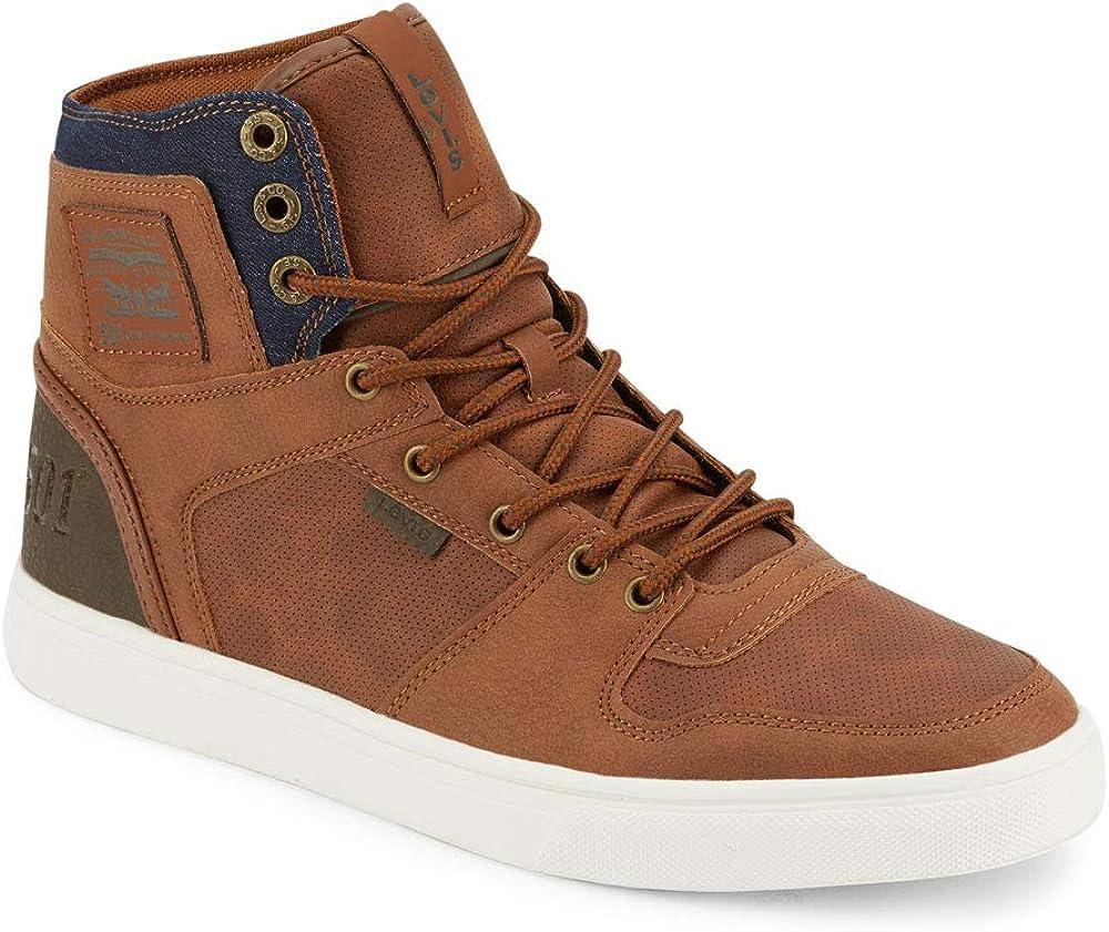 Levi's Mens Mason Hi Fashion Hightop Sneaker Shoe