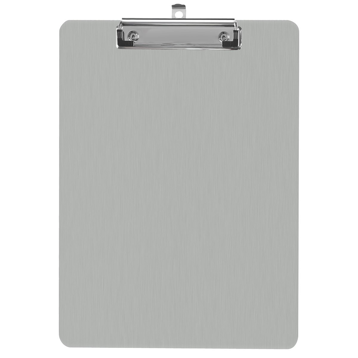 Aluminum Clipboard Paper Holder Steel Metal Clipboard - 9x12.5 Letter Size, File A4 Binder Holder for Office School Worker Business