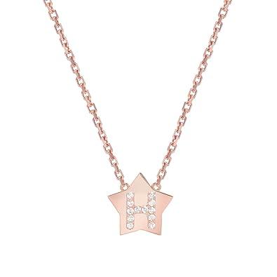 Amazon.com: Mini Mini Jewels 14k Rose Gold Brilliant Diamond Set ...
