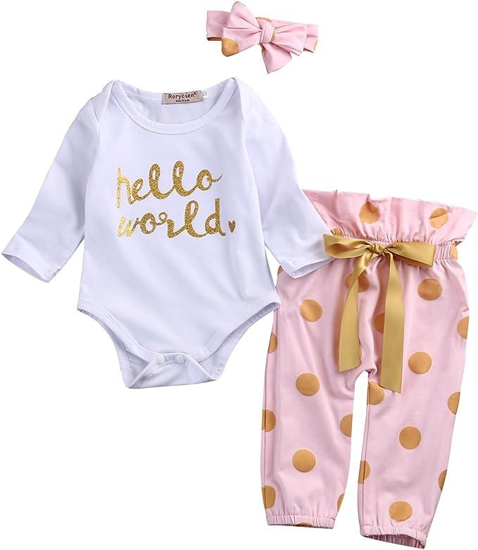 Amazon.com: Conjunto HELLO WORLD para bebés ...