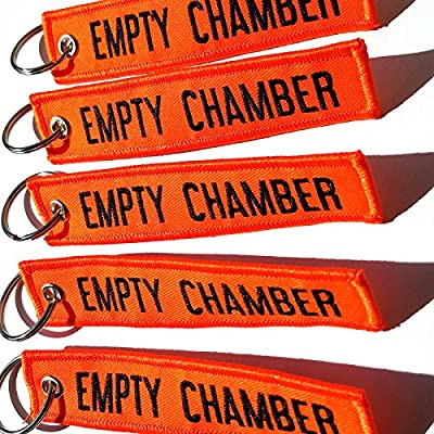 Empty Chamber - Key Chains - 5pcs Rotary13B1 (Neon Orange): Office Products