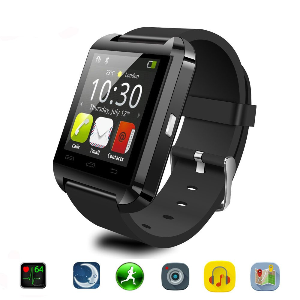 Smartwatch Bluetooth Reloj Inteligente Android iOS Joymixx U Smart Watch Teléfono Inteligente