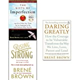 Brené Brown Collection 3 Books Set (Rising Strong,Daring Greatly,The Gifts of Imperfection)