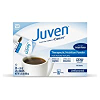 Juven Therapeutic Nutrition Drink Mix Powder for Wound Healing Includes Collagen...