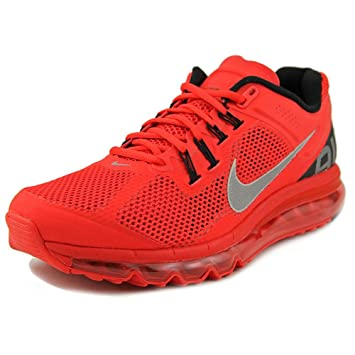 Nike Men's Air Max+ 2013 Running Shoes554886 600 Pimento 9 M