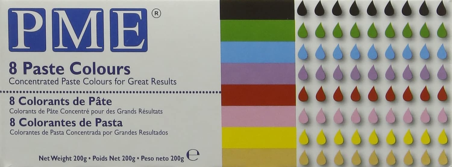 Pme Concentrated Paste Colours For Icing Sugarpaste Fondant And