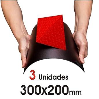 Superficie de Impresión 3D 300mm x 200mm. 3 unidades. Accesorios ...