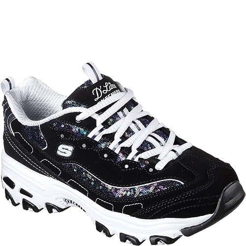 Skechers D'Lites Fame N Fortune Womens Sneakers