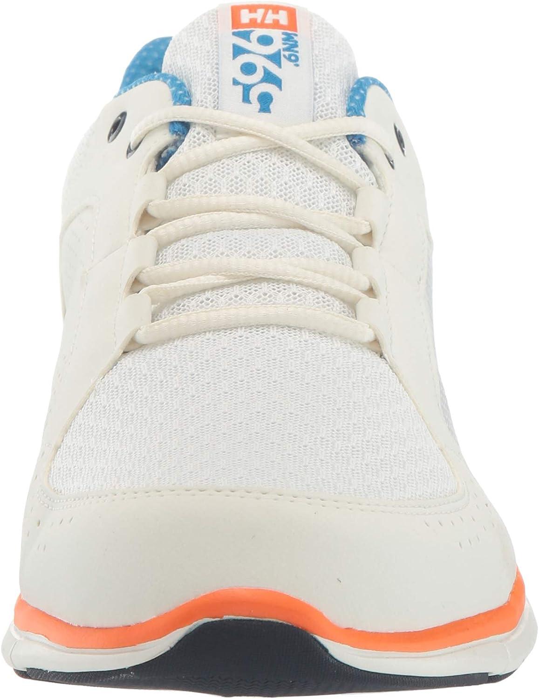 Helly-Hansen Men's Ahiga V4 Hydropower Boating Shoes White Off White Racer Blue 012