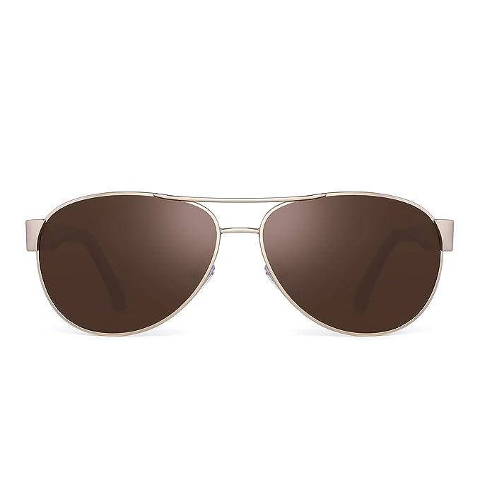 JIM HALO Polarizadas Aviador Espejo Gafas de Sol Para Mujer Hombre Marco UV400
