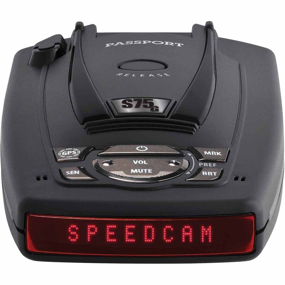 Escort Passport S75 Radar Detector with GPS with Auto Lock by Escort